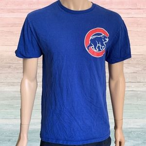 Majestic Chicago Cubs Anthony Rizzo Jersey Tee